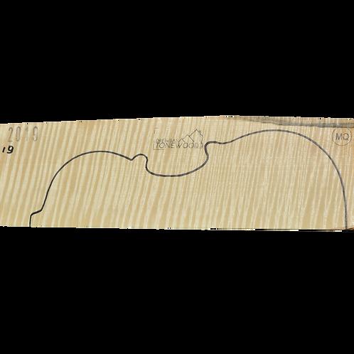 Flamed maple | Violin set No.19