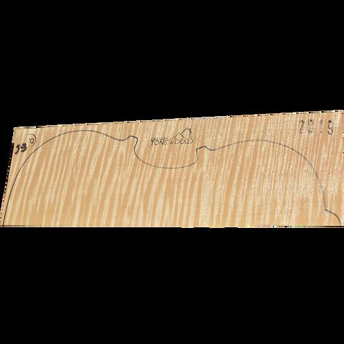 Flamed maple | Viola set No.59