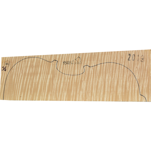 Flamed maple | Viola set No.56