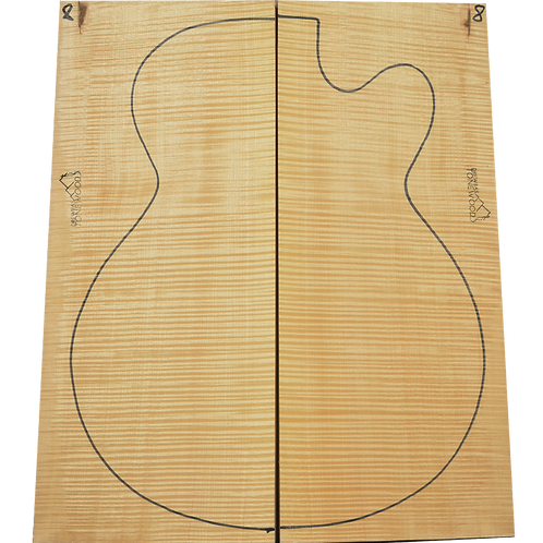 Archtop Jazz guitar back + sides No.8