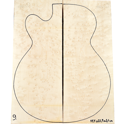 Birdseye maple | Guitar Top No.9