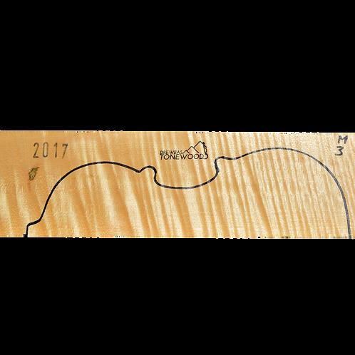 Flamed maple | Violin set No.3
