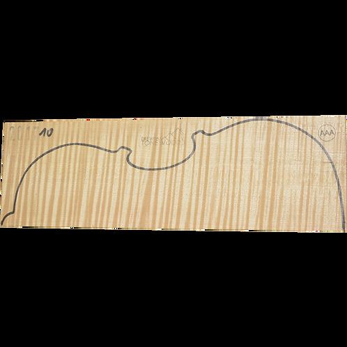 Flamed maple | Viola set No.10
