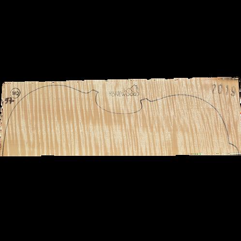 Flamed maple | Viola set No.57