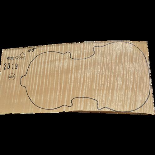 Flamed maple | One Piece Violin set No.15