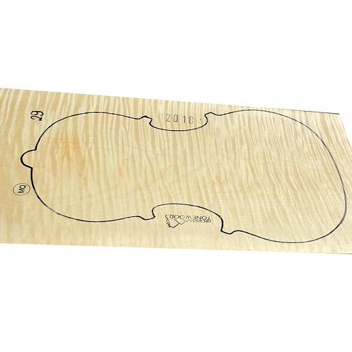 Flamed maple | One Piece Viola set No.29