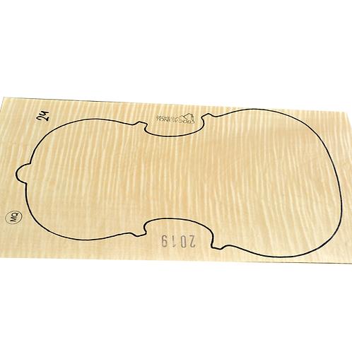 Flamed maple | One Piece Viola set No.24