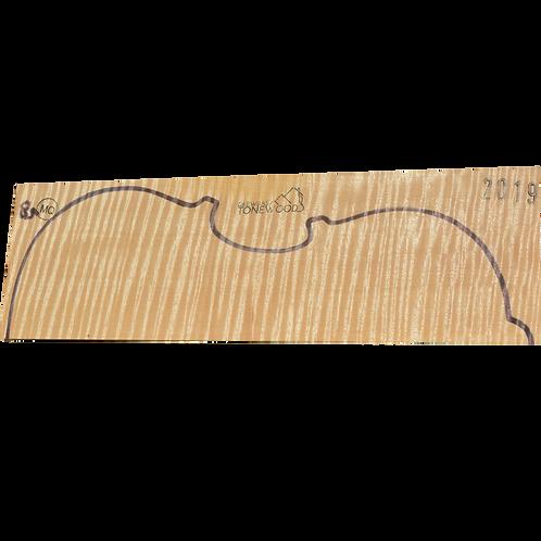 Flamed maple | Viola set No.85
