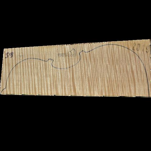 Flamed maple | Viola set No.39