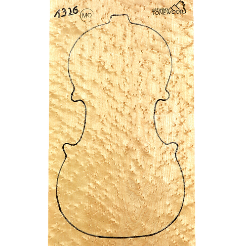 Birdseye maple | Violin set No.26.
