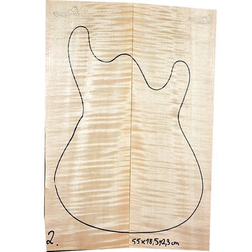 Flamed maple | Guitar Top No.2