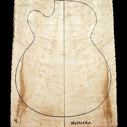 Birdseye maple   Guitar Top No.4