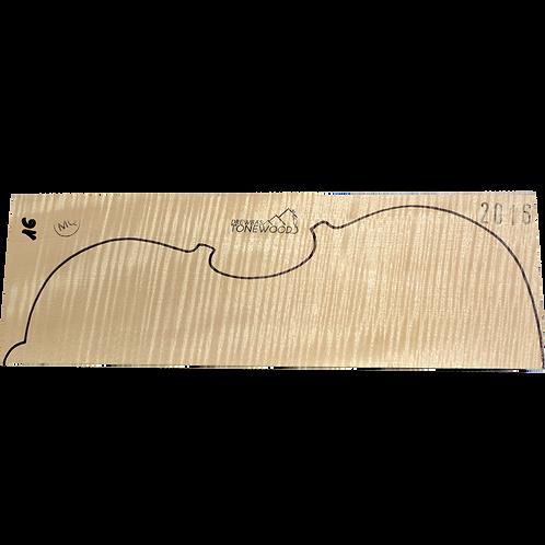 Flamed maple | Viola MQ 2pc set No.16