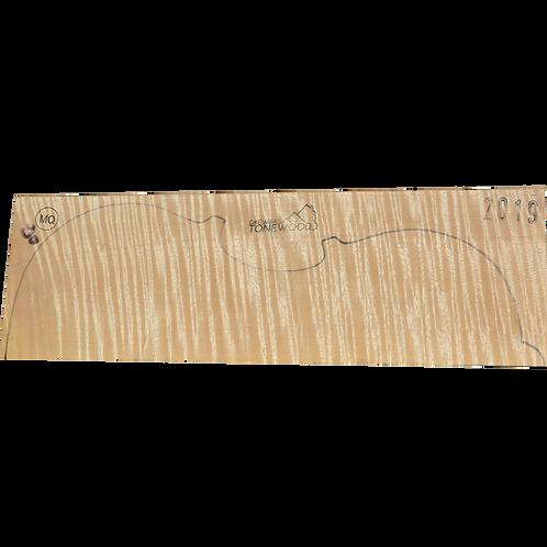 Flamed maple | Viola set No.90
