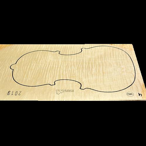 Flamed maple | One Piece Viola set No.4