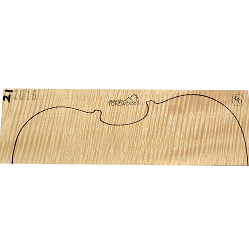 Flamed maple | Viola MQ 2pc set No.21