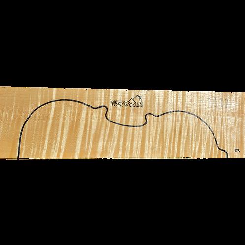 Flamed maple | Violin set No.6