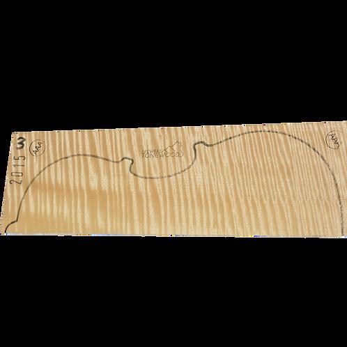 Flamed maple | Viola AAA 2pc set No.3