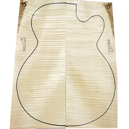 Archtop Jazz guitar back + sides No.15