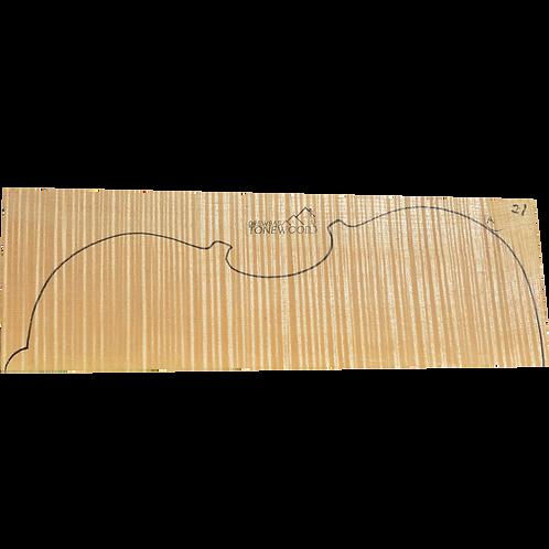 Flamed maple | Viola set No.21