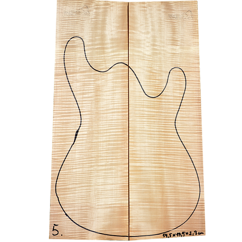Flamed maple | Guitar Top No.5