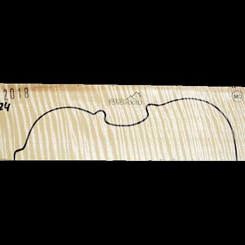 Flamed maple | Violin set No.24