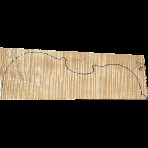 Flamed maple | Viola set No.6