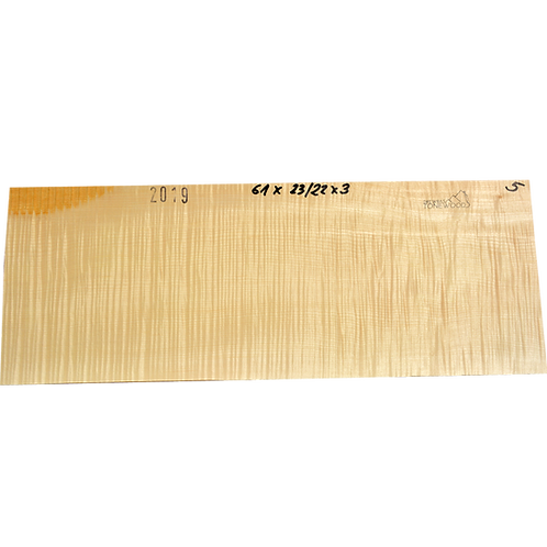 Flamed maple | Guitar blank No.5