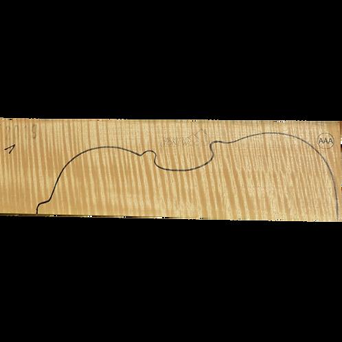 Flamed maple | Violin set No.1