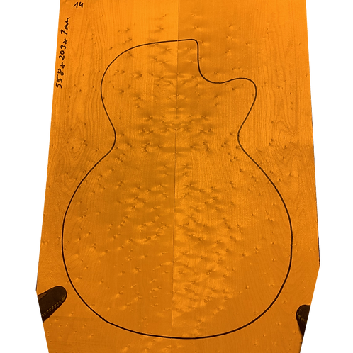 Birdsye Maple   Guitar drop top No.14