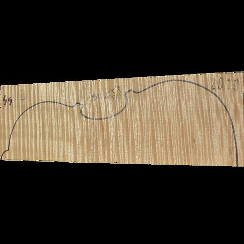 Flamed maple | Viola set No.44