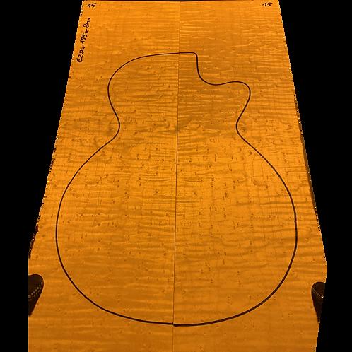Birdsye Maple | Guitar drop top No.15