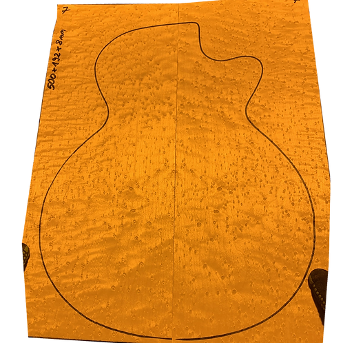 Birdsye Maple | Guitar drop top No.7