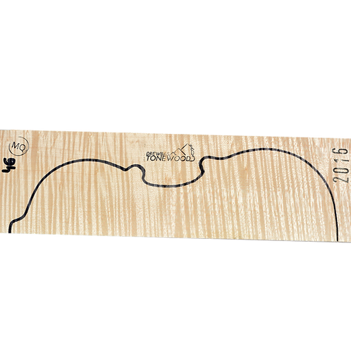Flamed maple | Two  Piece Violin set No.46