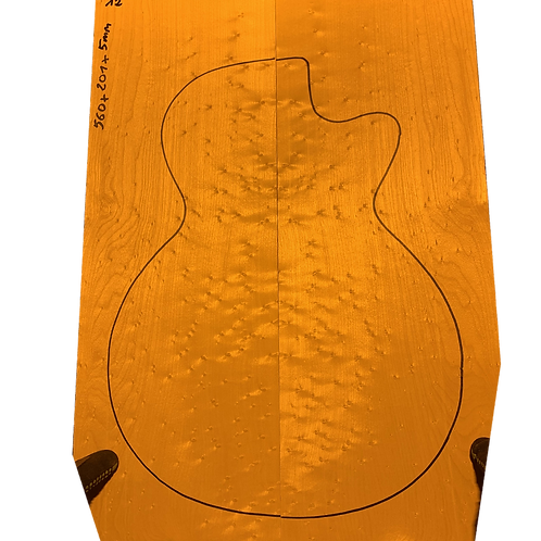 Birdsye Maple | Guitar drop top No.12