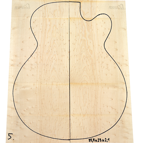 Birdseye maple | Guitar Top No.5