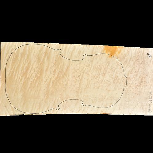 Birdseye Maple | Cello back No.18