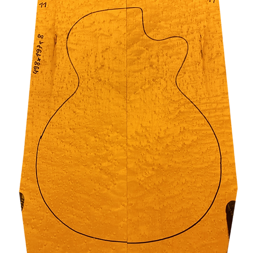 Birdsye Maple | Guitar drop top No.11