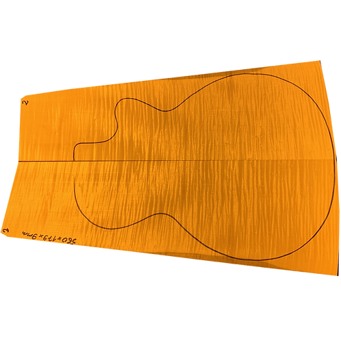 Flamed maple | Guitar drop top No.2