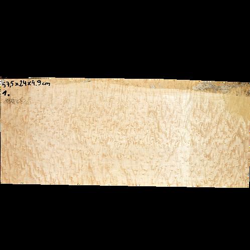 Birdseye maple | Guitar Blank No.1