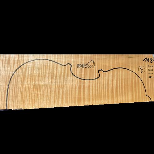 Flamed maple | Viola AAA 2pc set No.113