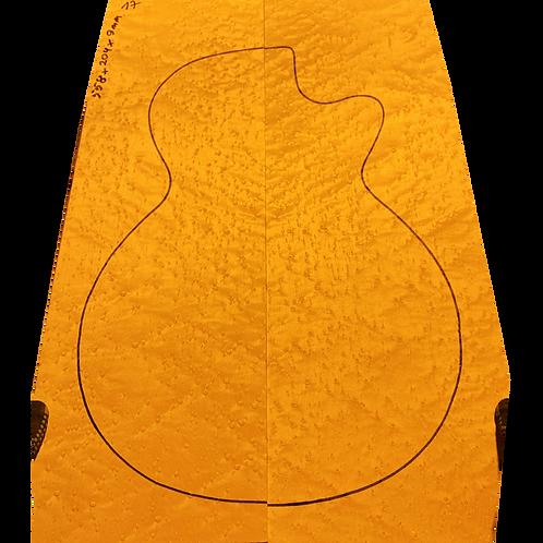 Birdsye Maple | Guitar drop top No.17