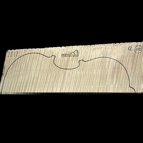 Flamed maple | Viola set No.12