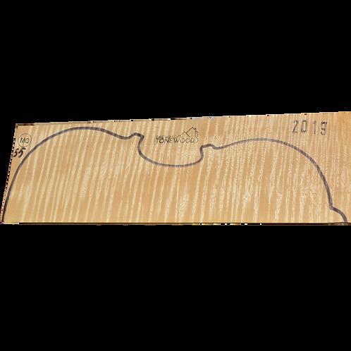 Flamed maple | Viola set No.55