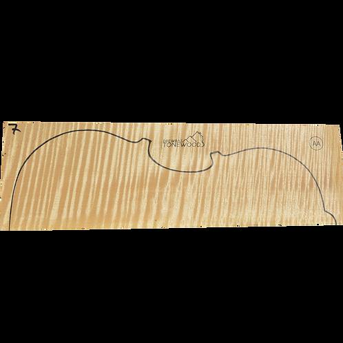 Flamed maple | Viola set No.7