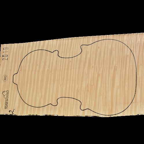 Flamed maple | One Piece Violin set No.2