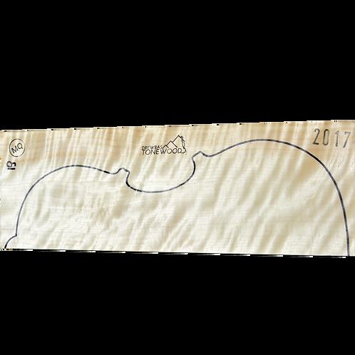 Poplar | Viola No. 19 (back + ribs)