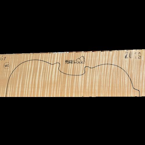 Flamed maple | Violin set No.61