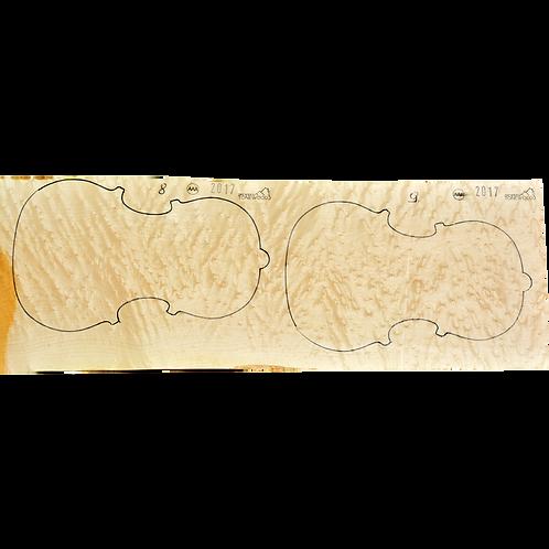 Birdseye Maple | Viola set No.9
