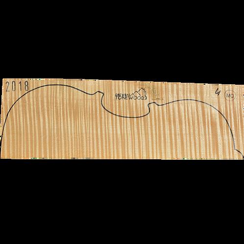 Flamed maple | Viola set No.4